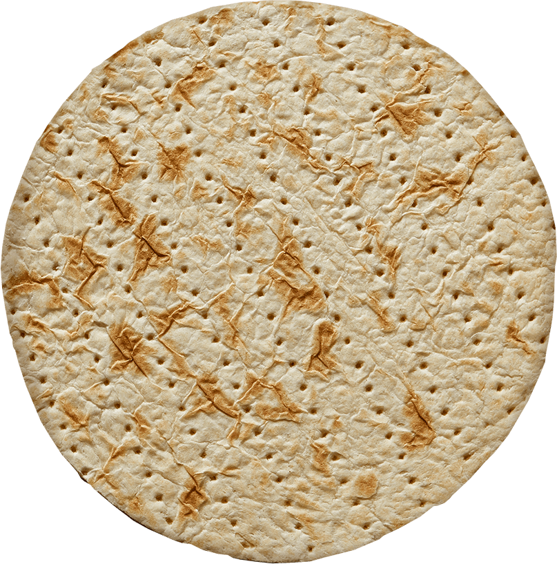 Golden Crunchy on white